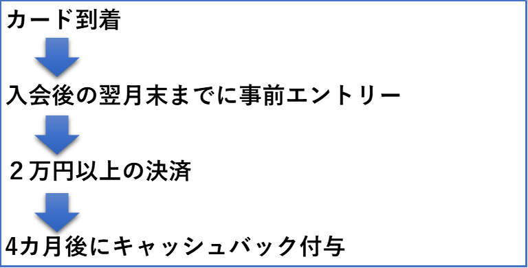 2万円キャンペーン手順