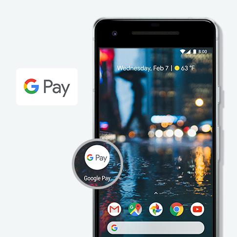 Google Playから、Google Pay™アプリ