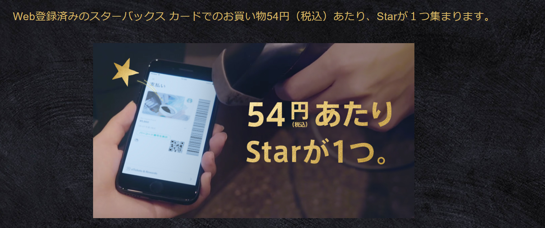 【Starbucks Rewards】でStarを貯めよう